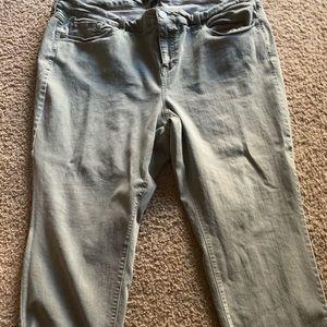 Olive/Grey Torrid Jeans